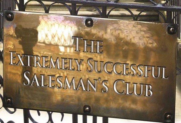 The Extremely Successful Salesman's Club
