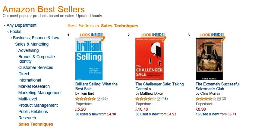 Top 3 on Amazon Best Sellers – Thanks | The Extremely