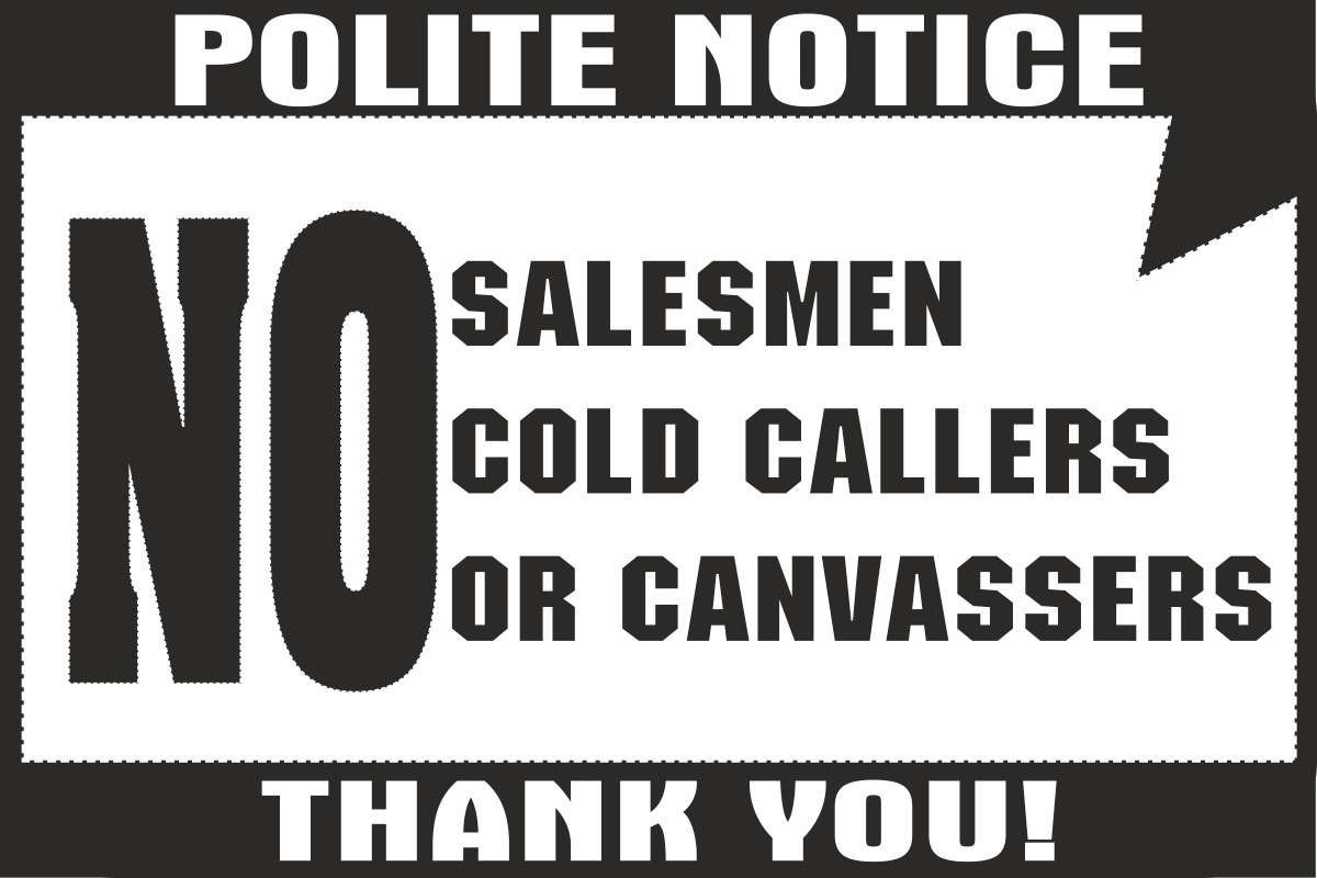 No-Salesman